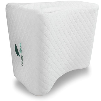 Cushy Form Knee Pillow for Side Sleepers B01A8TPWS2