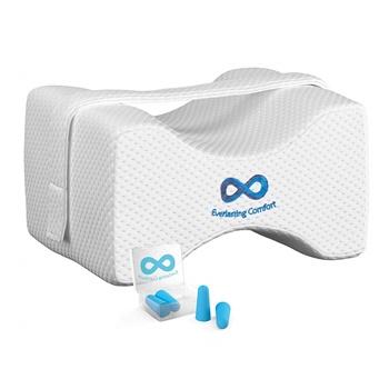 Everlasting Comfort 100% Pure Memory Foam Knee Pillow B07995B8L1
