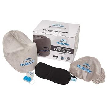 Rubark Orthopedic Knee Pillow for Side Sleepers B07DYDC375
