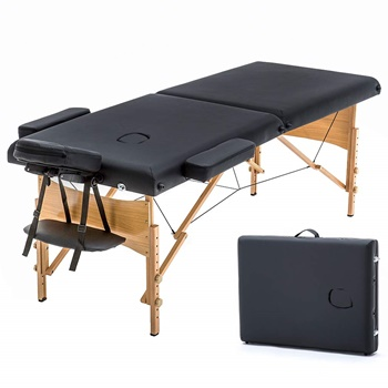 "BestMassage Portable Massage Bed 73""x28"" Adjustable B00K0OW60I"