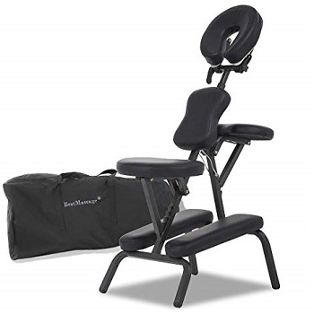 BestMassage Portable Therapy Massage Chair 4 Inches B00E86A8IG