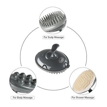 MARNUR Scalp Massager Shampoo Brush Electric Massage B0727P6MGJ