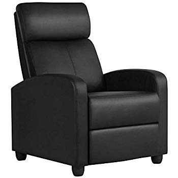 Homall Single Recliner Chair Padded Seat PU Leather B077N51CR2