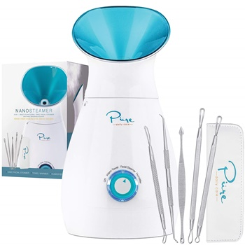 NanoSteamer Large 3-in-1 Nano Ionic Facial Steamer by Pure Daily Care B01BPKUCRE