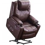 MAGIC UNION Power Lift Massage Recliner Faux Leather Featured