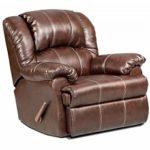 Roundhill Furniture Brandan Bonded Leather Dual Rocker Recliner Featured