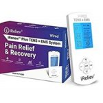 iReliev FDA Cleared TENS Unit + EMS 14 Therapy Modes Featured